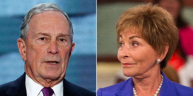 Former New York City Mayor Mike Bloomberg pick up a 2020 presidential endorsement from Judge Judy.