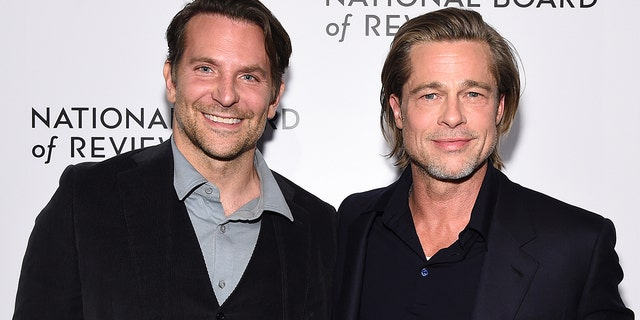 positive news Bradley Cooper and Brad Pitt attend The National Board of Review Annual Awards Gala at Cipriani 42nd Street on January 08, 2020 in New York City.