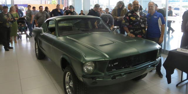 Vintage Mustang from movie 'Bullitt' auctioned for $3.7 mn