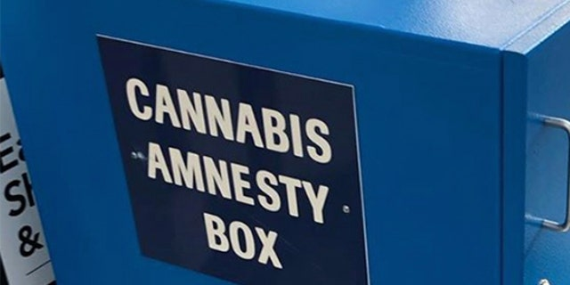 The boxes, which were installed only weeks ago to coincide with the legalization of recreational marijuana in Illinois, are intended for departing passengers wishing to dispose of their cannabis products before boarding their flights at Midway or O鈥橦are.聽