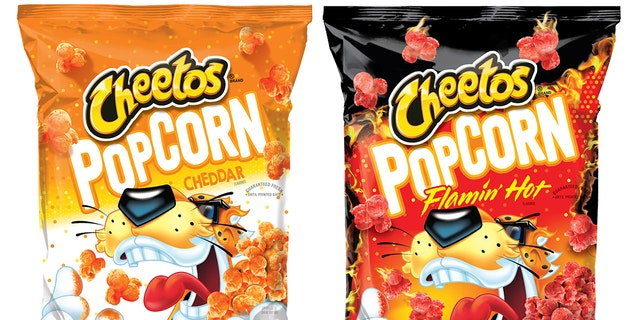 """The only way to truly take popcorn to the next level is to add the iconic Cheetle, the cheesy dust that will entice Cheetos fans to snack on this popcorn all year long,"" said the director of marketing for Frito-Lay North America."