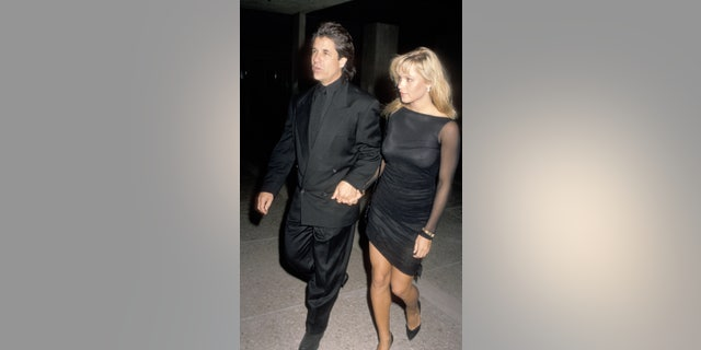 Pamela Anderson And Jon Peters in 1989, when they originally dated.聽