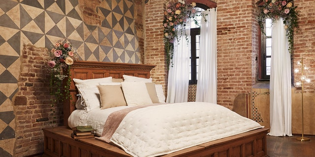 """Tucking in for the night, the contest winners will fall asleep on the actual, original """"Letto di Giulietta"""" bed that was used in the classic Franco Zeffirelli film from the '60s."""