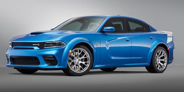 The limited edition Charger Daytona comes with a 717 hp version of the Hellcat V8.