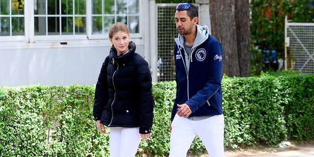 Jennifer Gates and Nayel Nassar during Madrid-Longines Champions