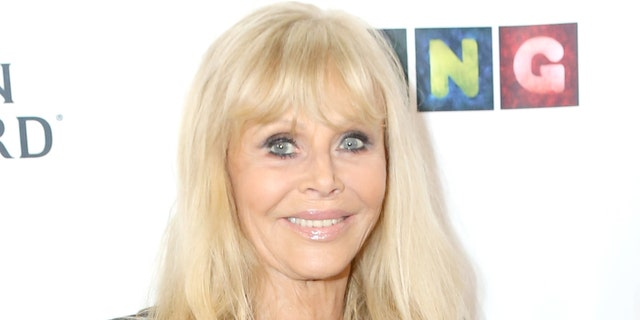 Britt Ekland attends Val Kilmer's HelMel Studios Presents GLAM Art Exhibition at HelMel Studios on November 15, 2019 in Los Angeles, California. (Photo by Tasia Wells/Getty Images)