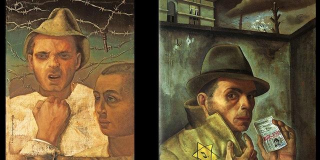 Felix Nussbaum was a German-Jewish surrealist painter who was murdered at Auschwitz at age 39 in August 1944. (Facebook)