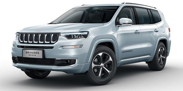 The Jeep Grand Commander is a three-row SUV built exclusively in China.