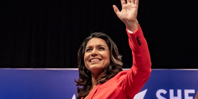 Westlake Legal Group gabbard-3 2020 election: Lower-tier Democrats still fighting in the primaries fox-news/politics/elections/democrats fox-news/politics/2020-presidential-election fox-news/person/tulsi-gabbard fox-news/person/michael-bennet fox-news/person/john-delaney fox-news/person/donald-trump fox-news/person/deval-patrick fox news fnc/politics fnc Bradford Betz article a5992278-7b31-516b-9aad-034d56ed68d8