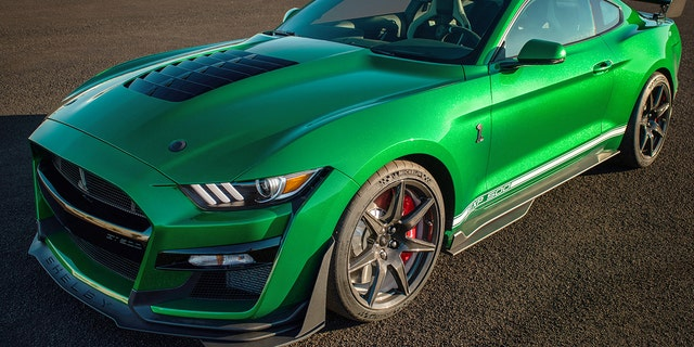 Westlake Legal Group green1 $1.1 million 2020 Ford Mustang Shelby GT500 is very green machine Gary Gastelu fox-news/auto/make/ford fox-news/auto/attributes/performance fox-news/auto/attributes/custom fox news fnc/auto fnc article 4efb997e-3020-5039-a3ff-41d38ac0f364