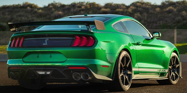 Westlake Legal Group green2 $1.1 million 2020 Ford Mustang Shelby GT500 is very green machine Gary Gastelu fox-news/auto/make/ford fox-news/auto/attributes/performance fox-news/auto/attributes/custom fox news fnc/auto fnc article 4efb997e-3020-5039-a3ff-41d38ac0f364