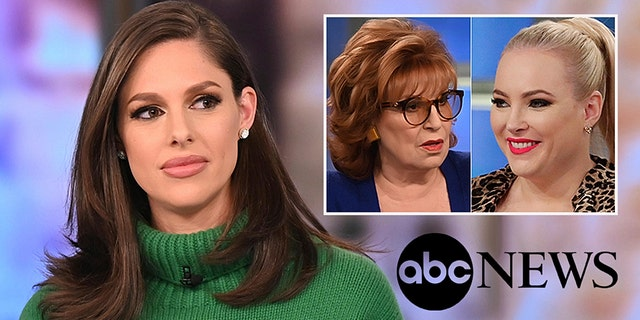 """Abby Huntsman's sudden exit from """"The View"""" has resulted in various narratives being planted across multiple publications. (Jenny Anderson/ABC via AP)"""