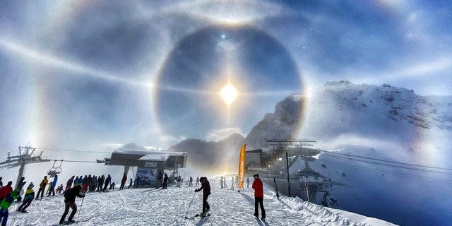 Westlake Legal Group ice-halo-1 'Ice halo' spotted around the Sun in incredible photo fox-news/science/air-and-space/sun fox news fnc/science fnc Chris Ciaccia article 168661dd-f4a4-527a-a174-e53176d10c41