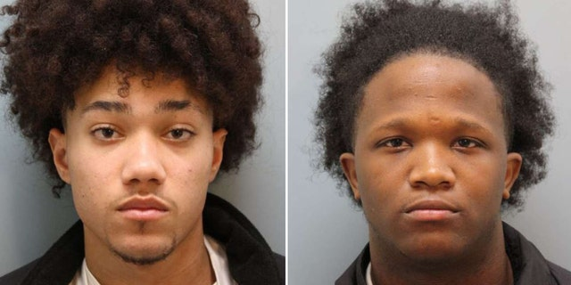 Davis, left, and Cannady were arrested without incident following a short pursuit, deputies said.