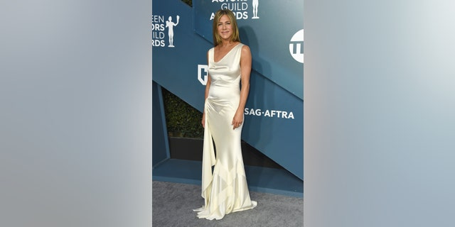 Westlake Legal Group jennifer-aniston-dress-ap Jennifer Aniston wears sheer dress at SAG Awards: 'I wonder if [she] knows how visible everything is' Sasha Savitsky fox-news/person/jennifer-aniston fox-news/entertainment/style fox-news/entertainment/movies fox-news/entertainment/events/couples fox news fnc/entertainment fnc article 997d36d0-85b0-5ae2-943d-8d35e2ba204f