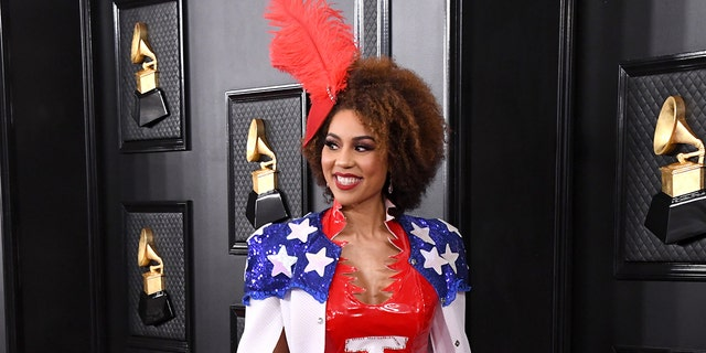 Joy Villa attends the 62nd Annual GRAMMY Awards at Staples Center on jAN. 26.