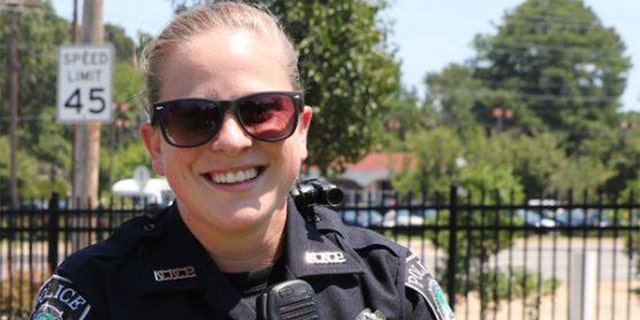 Officer Katie Thyne joined the Newport News Police Department in 2018.