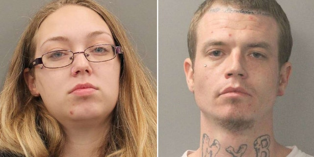 Cook and Blue were charged with child abandonment after deputies said they left their toddler inside an unlocked, running car while they gambled inside a gas station.