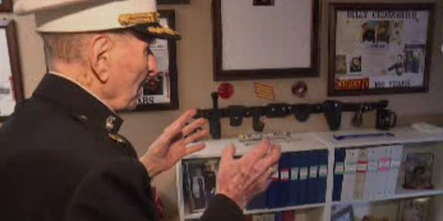 This year, the spirited veteran hopes to grow his collection of keepsakes with Valentine's Day cards from friends old and new.