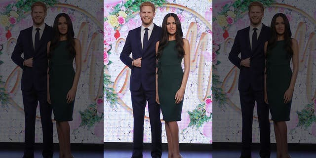 The Duke and Duchess of Sussex's wax figures atMadame Tussauds museum in London are moving further away from their waxy royal family.