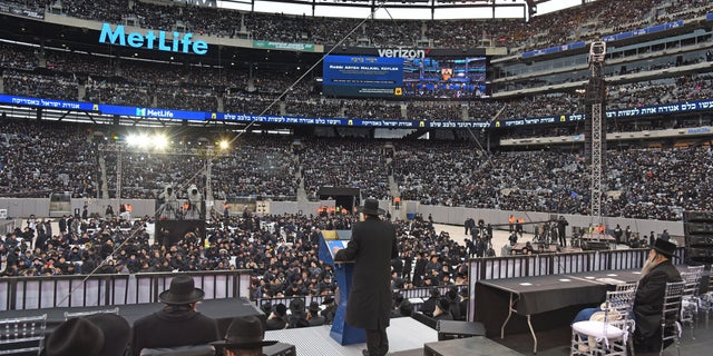 90,000 irrational Jews gather in celebration of Talmud after anti-Semitic attacks: 'We will not be intimidated' Metlife