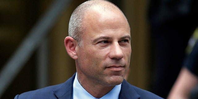 Michael Avenatti's digs are a far cry from cozy cable news greenrooms.