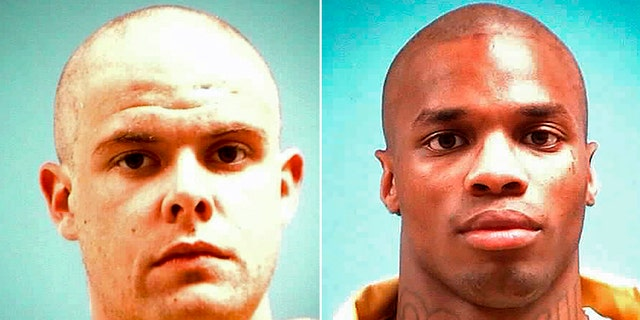 Gregory Emary, left, and Walter Gates, two of the inmates killed inside prisons in Mississippi this week. (AP/Mississippi Department of Corrections)