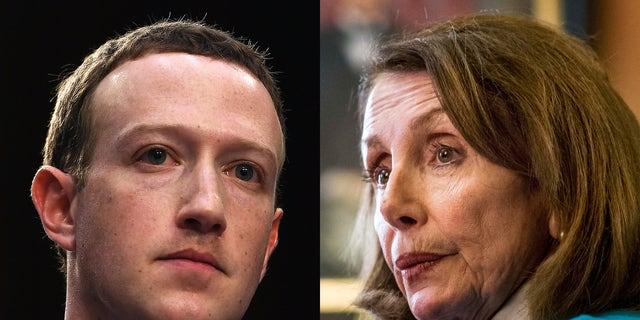 Pelosi slams 'shameful' Facebook, accuses tech giant of misleading users