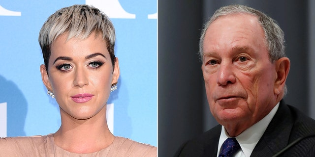 Katy Perry reportedly dined with 2020 presidential candidate Michael Bloomberg.