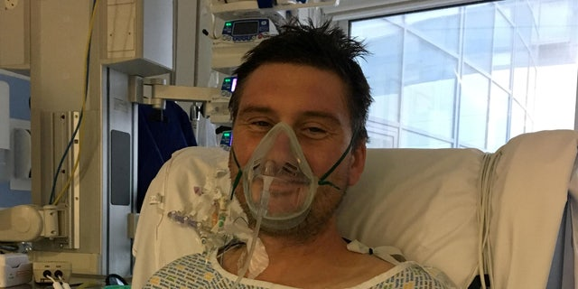 Adam Martin recovering in critical care.