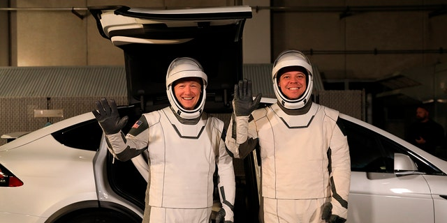 Westlake Legal Group space SpaceX crews will ride to rockets in the Tesla Model X fox-news/auto/make/tesla fnc/auto fnc Associated Press article 894fb8d3-9bb3-5321-b4cf-6abd14318f74
