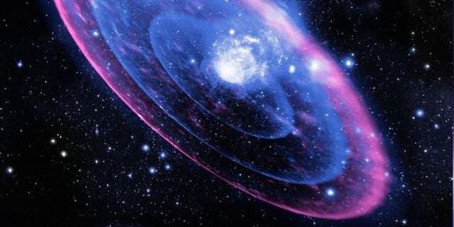 The explosive origin of superluminous supernova SN 2006gy