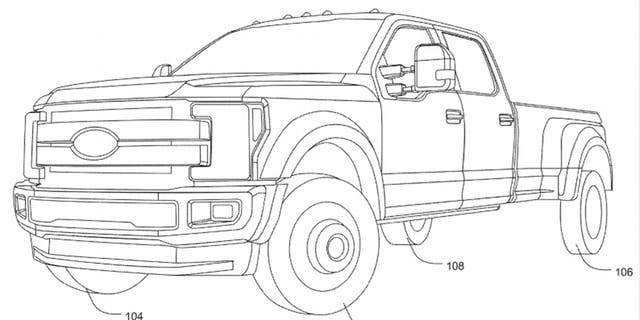 Westlake Legal Group steer3 Ford's four-wheel steering system could make big trucks drive small Gary Gastelu fox-news/auto/style/pickups fox-news/auto/make/ford fox-news/auto/attributes/innovations fox news fnc/auto fnc article 2367cd0a-cab4-5803-8dbc-7527d41233ff