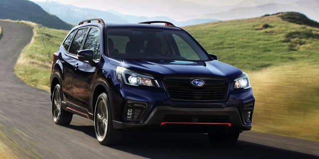 New edition of Subaru Forester comes with NSFW initials