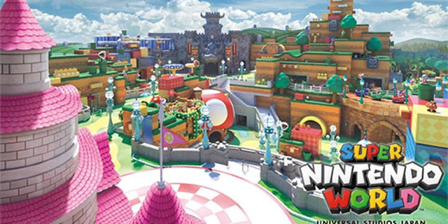Super Nintendo World is scheduled to open at Universal Studios Japan this summer.
