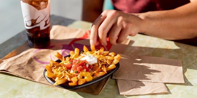 The returning Nacho Fries will cost $1.39, while the Buffalo Chicken Nacho Fries will cost $2.99 and come with pico de gallo, sour cream, nacho cheese, shredded cheese and shredded chicken with a buffalo drizzle.