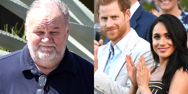 Thomas Markle said he believes Oprah Winfrey is manipulating Meghan Markle and Prince Harry.