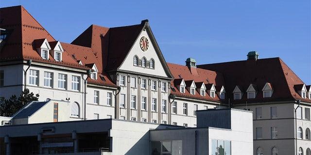 General view of Ulm University Clinic in Ulm, Germany. (REUTERS/Andreas Gebert)