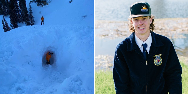 Westlake Legal Group utah-avalanche-chase-adams-split Utah snowmobiler, 18, dies after avalanche buries him on trip with dad Stephen Sorace fox-news/weather fox-news/us/us-regions/west/utah fox-news/us/disasters/disaster-response fox-news/us/disasters fox news fnc/us fnc c424a0ce-d10e-58b0-bfe3-9f78cca0f240 article