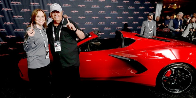 Corvette auctioned for $3m for charity
