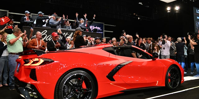 First Chevy Corvette Stingray Goes For $3 Million 01/20/2020