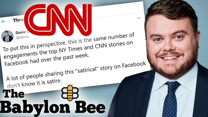 Cnn Reporter Sounds Alarm Over Conservative Satirical Site Gets