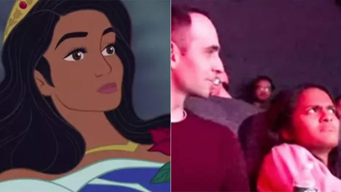 Man Hacks Sleeping Beauty Showing With On Screen Marriage Proposal Fox News