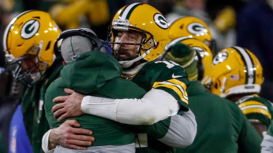 Westlake Legal Group Aaron-Rodgers4 Green Bay Packers fend off Seattle Seahawks to advance to NFC Championship Ryan Gaydos fox-news/us/us-regions/west/washington fox-news/us/us-regions/midwest/wisconsin fox-news/sports/nfl/seattle-seahawks fox-news/sports/nfl/green-bay-packers fox-news/sports/nfl fox-news/person/zadarius-smith fox-news/person/tyler-lockett fox-news/person/russell-wilson fox-news/person/preston-smith fox-news/person/marshawn-lynch fox-news/person/davante-adams fox-news/person/aaron-rodgers fox-news/person/aaron-jones fox news fnc/sports fnc article 910339cc-a2d8-5f57-958a-2fe1818fa09f