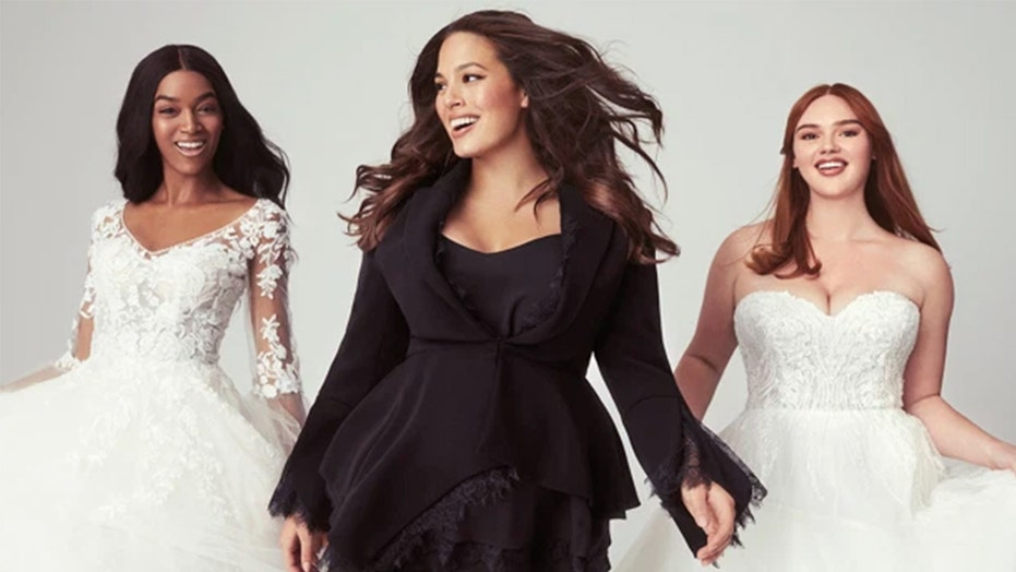 Ashley Graham designing plus-size wedding dresses with ...