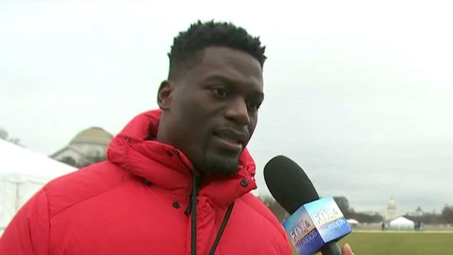 Benjamin Watson attends the March for Life
