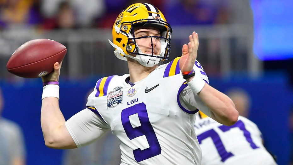 LSU's Joe Burrow posts inspiring message about reaching ...
