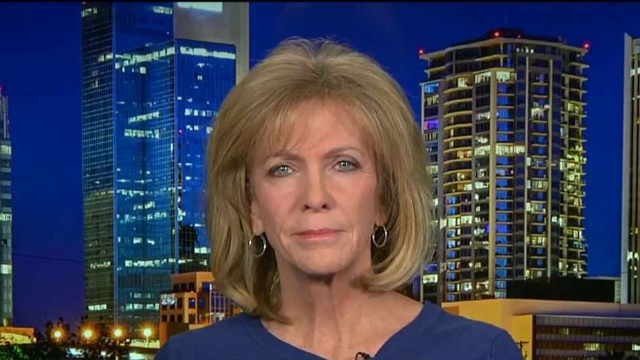 Mary Ann Mendoza reacts after Biden says ICE should support drunk driving illegal immigrants