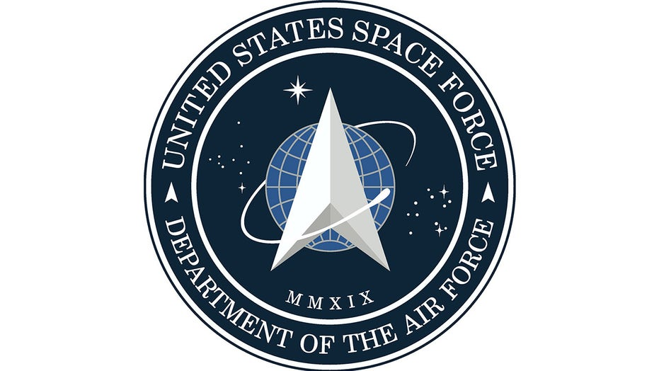 Image result for Trump unveils Space Force logo