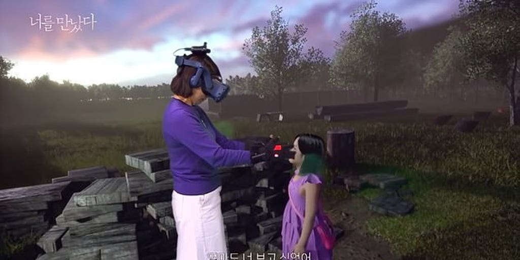 South Korean show 'reunited' mother with deceased daughter in virtual reality